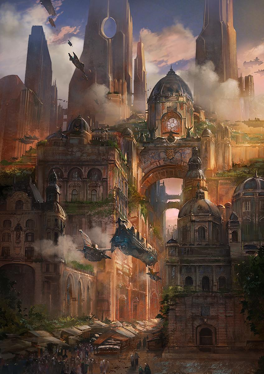 Flavio Bolla Environment Concept Artist Illustrator